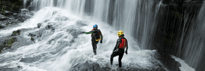 adventure sports canyoning