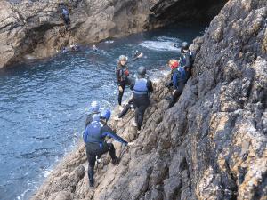 adventure sports coasteering