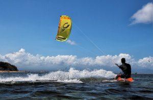 adventure sports kite surfing