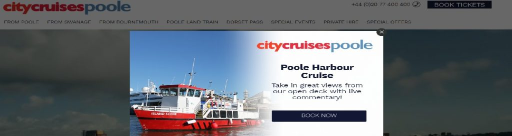 city cruises poole voucher code