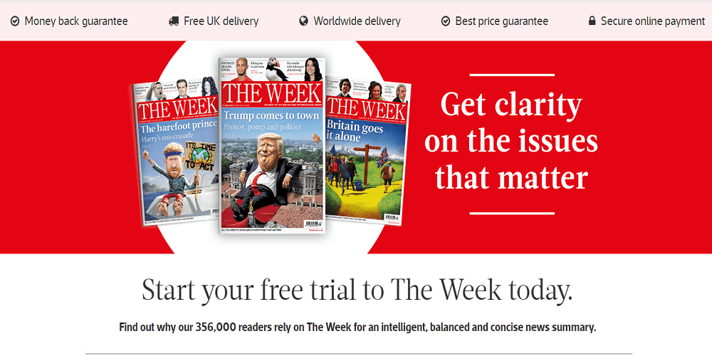 the week magazine promotions